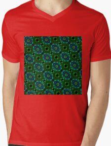 Abstract Design Pattern 535C Mens V-Neck T-Shirt