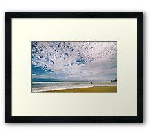 Midday surf at Cabarita Beach Framed Print