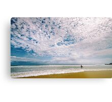 Midday surf at Cabarita Beach Metal Print