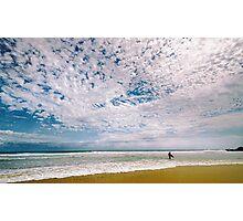 Midday surf at Cabarita Beach Photographic Print