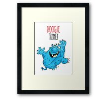 Pus Face Percy Framed Print