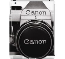 Old Canon iPad Case/Skin