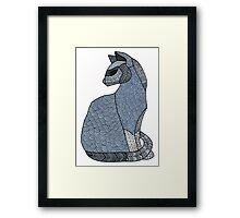 Titan the cat Framed Print