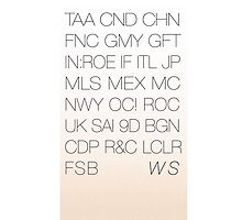 World Showcase of Acronyms Tote by magictime