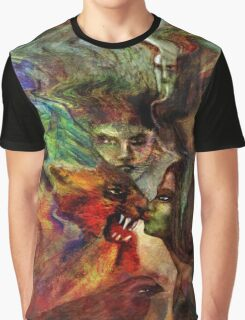 Kissing the Beast Graphic T-Shirt