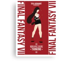 Tifa Lockheart FFVII Canvas Print