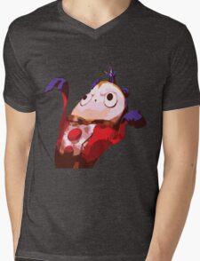 Teddie is Paper Thin Mens V-Neck T-Shirt
