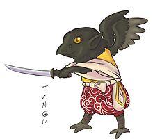Fizzy Tengu - Japanese Youkai by fizzy-lizard