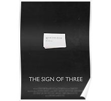 Sherlock - The Sign of Three Poster