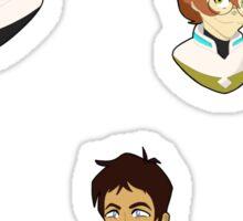 Voltron Legendary Defender Stickers Sticker