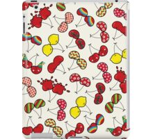 Oh, I'm Mad About Cheeky Cherries Pattern iPad Case/Skin