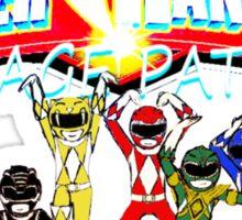 Power Rangers YMCA- Village Patrol Sticker