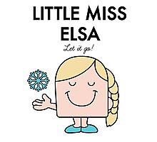 Little Miss Elsa Photographic Print