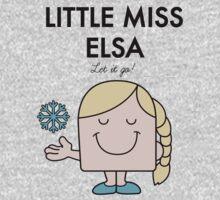 Little Miss Elsa One Piece - Short Sleeve