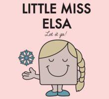 Little Miss Elsa One Piece - Long Sleeve