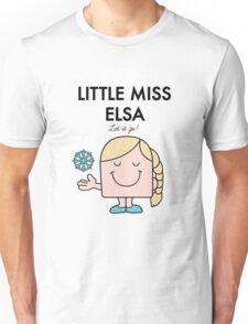 Little Miss Elsa Unisex T-Shirt