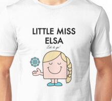 Little Miss Elsa Unisex T-Shirt