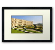 The view from Versailles Framed Print