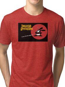 Oswald Approaching Tri-blend T-Shirt