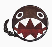 Super Mario - Chain Chomp Sticker by kiiroikat