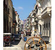 Street Life in Centro Habana (Central Havana) Cuba Photographic Print