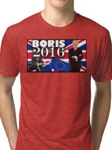 Boris Johnson - Prime Minister 2016 Tri-blend T-Shirt