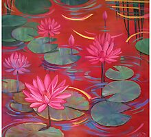 Lily Pond by Jane Delaford Taylor