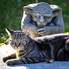 Gargoyle Impersonation by Mikell Herrick