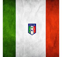 Italian Flag Photographic Print