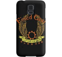 Fixed Gear - Cant Stop Wont Stop! Samsung Galaxy Case/Skin