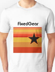 Fixed Gear Retro Star Unisex T-Shirt