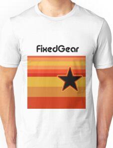 Fixed Gear Retro Star Unisex T-Shirt