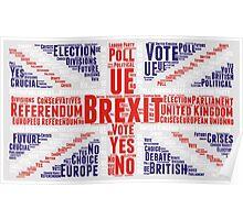 BREXIT - britain exit Poster