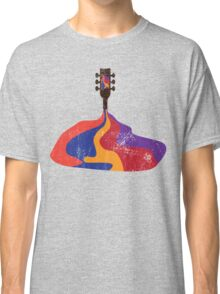Guitar Half Full of Wine Classic T-Shirt