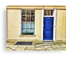 Abroad in the UK  Canvas Print