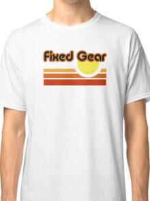 Fixed Gear Sunset Classic T-Shirt