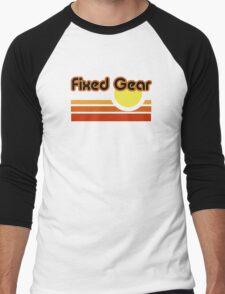 Fixed Gear Sunset Men's Baseball ¾ T-Shirt