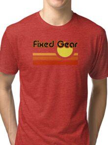 Fixed Gear Sunset Tri-blend T-Shirt