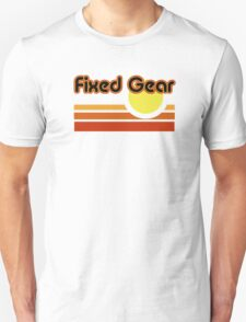 Fixed Gear Sunset Unisex T-Shirt