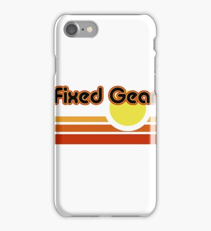 Fixed Gear Sunset iPhone Case/Skin