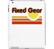 Fixed Gear Sunset iPad Case/Skin