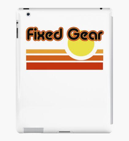 Fixed Gear Sunset iPad Case/Skin