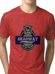 Alaska Skagway Emblem Tri-blend T-Shirt