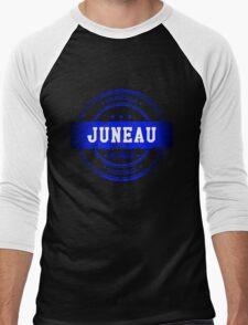 Juneau Alaska Men's Baseball ¾ T-Shirt