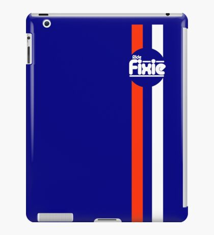Fixie Strips iPad Case/Skin