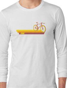 Fixie Retro Stripes Long Sleeve T-Shirt