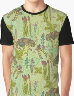 Green vegetables pattern. Graphic T-Shirt
