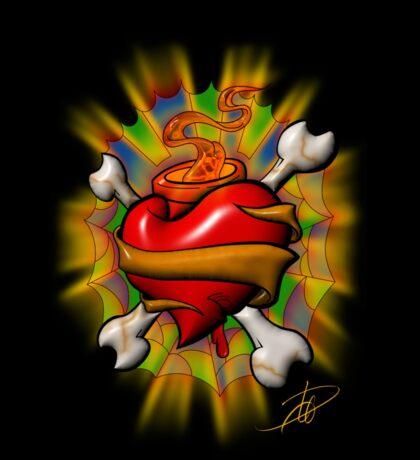Sacred Pirate Heart Sticker