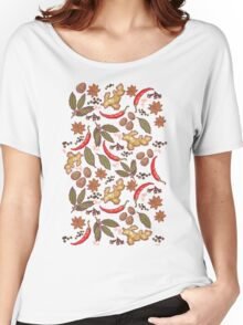 Spices pattern Women's Relaxed Fit T-Shirt
