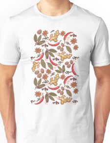 Spices pattern Unisex T-Shirt